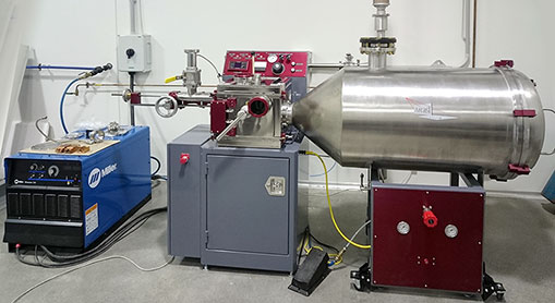 Arc 200 furnace with atomizer option